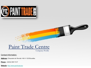 Paint Trade Centre Company Profile