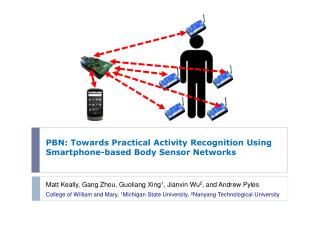 PBN: Towards Practical Activity Recognition Using Smartphone-based Body Sensor Networks