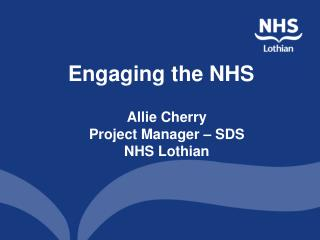 Engaging the NHS