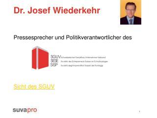 Dr. Josef Wiederkehr