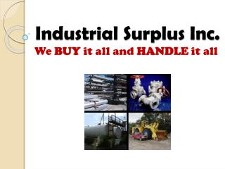 industrial surplus world - scrap metal buyer