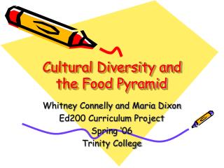Cultural Diversity and the Food Pyramid