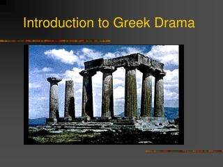 an introduction to the greek world