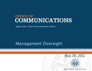 The Office of Communications  coordinates internal and external districtwide communications and strategic partnerships