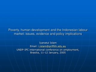 Migration, PRSPs and Human Development