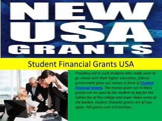 Student Financial Aid Programs