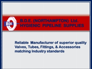 BDE Ltd- Leading Manufacturer of Industrial equipments