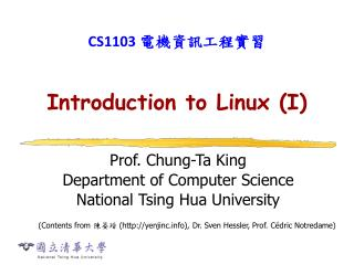 Introduction to Linux I
