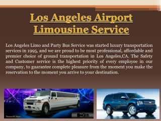 LAX Limo Transportation