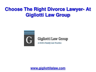 Choose the Right Divorce and Child Support Lawyer