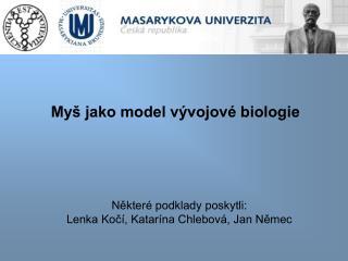 My  jako model v vojov  biologie