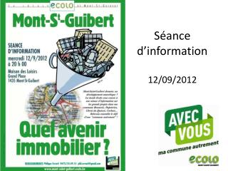 S ance d information  12