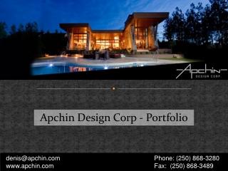 Apchin Design Corp - Portfolio