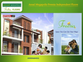 Ansal Megapolis Freesia Floors, Ansal Freesia Floors Greater