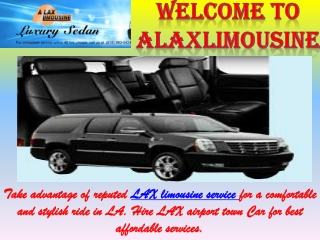 LAX Airport Town Car