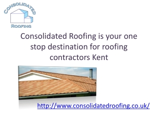 Roofing Contractors Kent