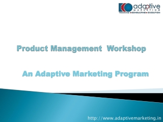 product management professional workshop