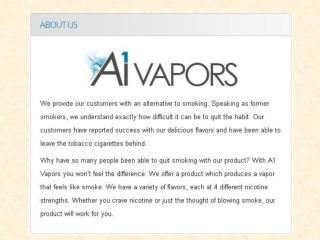 Premium E Cigarettes