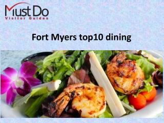 Fort Myers top10 dining