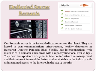 Offshore Dedicated Server