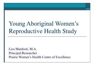 young aboriginal women