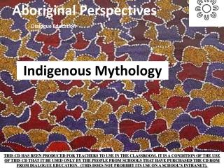 aboriginal religion