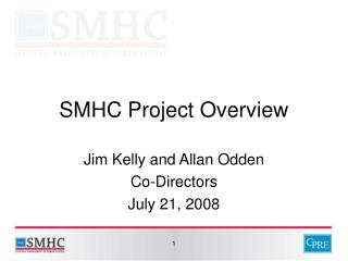 SMHC Project Overview