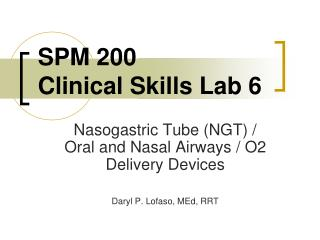 SPM 200 Clinical Skills Lab 6