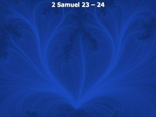 2 samuel 23