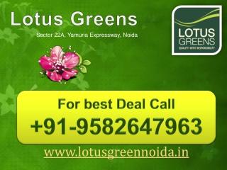 Lotus Greens Noida