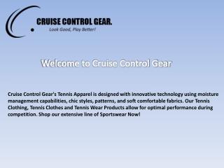 Cruise control gear