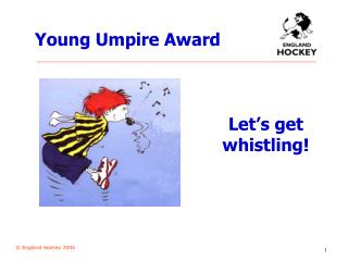 Young Umpire Award