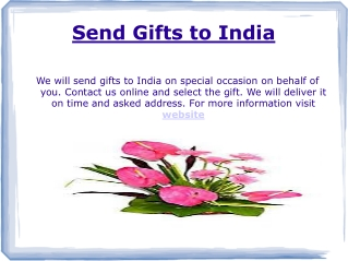 Online Gifts Delivery India