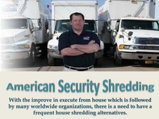 Residential Shredding Services