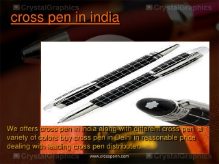 cross pen in india