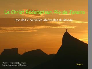 Le Christ R dempteur, Rio de Janeiro