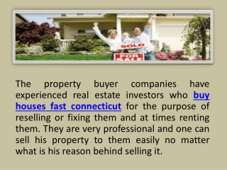 buy houses fast connecticut