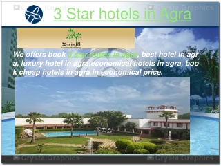3 Star hotels in Agra