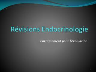 R visions Endocrinologie