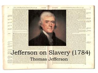 jefferson on slavery 1784