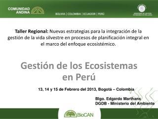 Taller Regional: Nuevas estrategias para la integraci n de la gesti n de la vida silvestre en procesos de planificaci n