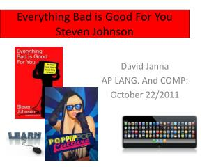 David Janna AP LANG. And COMP: October 22