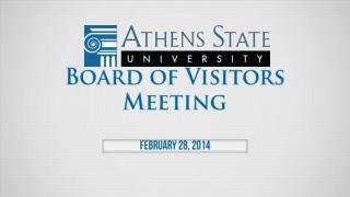 Board of Trustees February 22, 2013