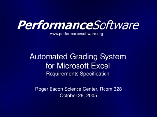 Automated Grading