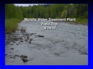 Molalla Water Treatment Plant Field Trip  4