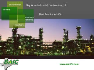 BAY AREA INDUSTRIAL CONTRACTORS, LTD.