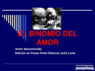 EL BINOMIO DEL AMOR