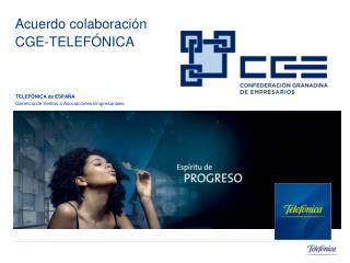 Acuerdo colaboraci n  CGE-TELEF NICA