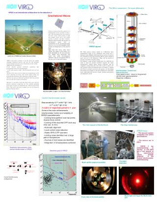 VIRGO is an international collaboration for the detection of