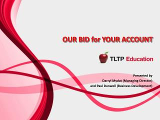 OUR BID for YOUR ACCOUNT